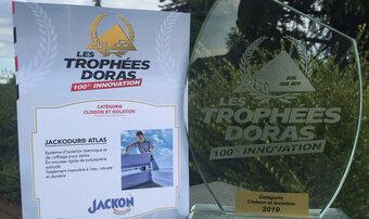 Le Trophée DORAS 100 % innovation 2019 est attribué à JACKODUR<sup>®</sup> Atlas !