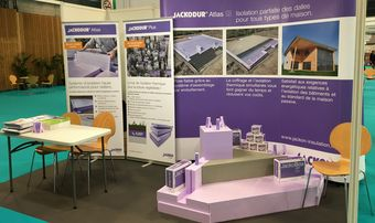 Nous vous invitons à venir nous rendre visite sur notre stand JACKODUR<sup>®</sup> sur le Salon PASSI´BAT