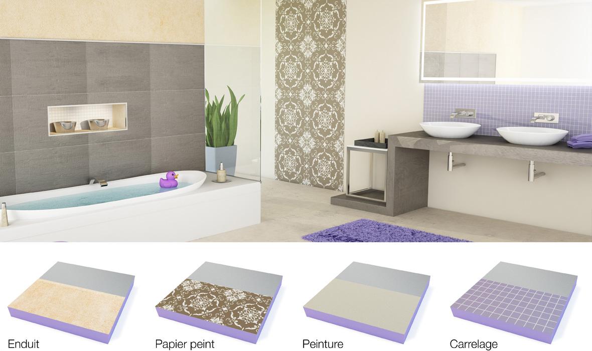 Actualit s presse jackon insulation - Panneaux d habillage pour renover sa salle de bains ...