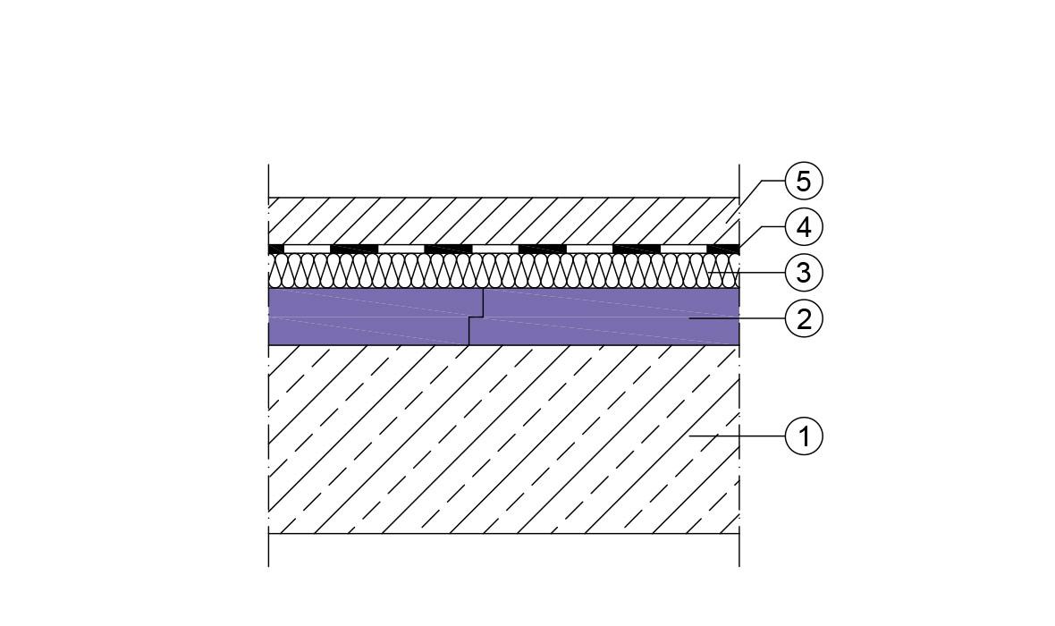 Isolation sous chape  JACKON Insulation